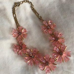 J. Crew Statement Necklace, pink